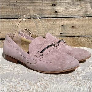 🌻Enzo Angiolini Taiden Purple Suede Loafer Size 9